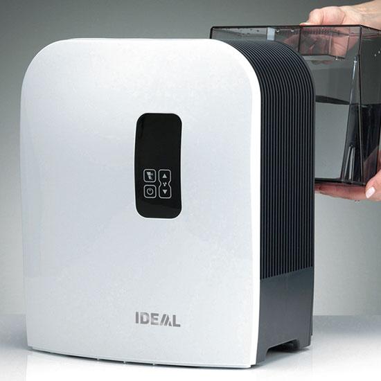 Nawilżacz Ideal AW 40 montaż zasobnika z wodą