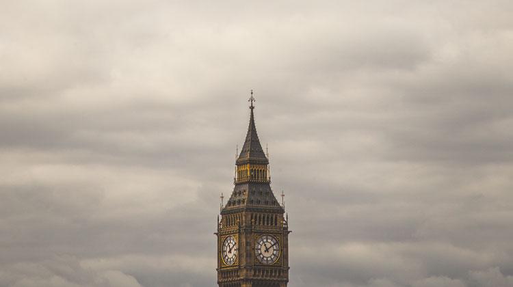 Wieża zegara Big Ben w Londynie
