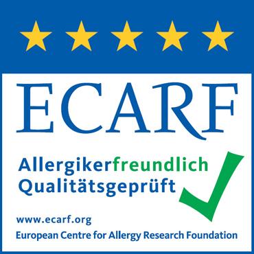 Certyfikat ECARF z pięcioma gwiazdkami